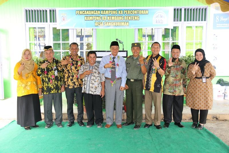 Desa Sangkuriman Dicanangkan Kampung KB Percontohan