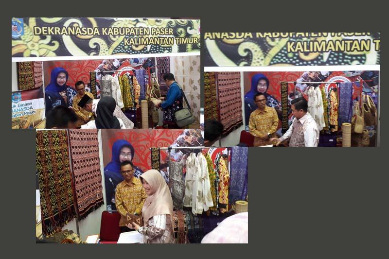 Ketua DPRD Kalsel, Walikota Banjarmasin dan Istri Kunjungi Stan Paser