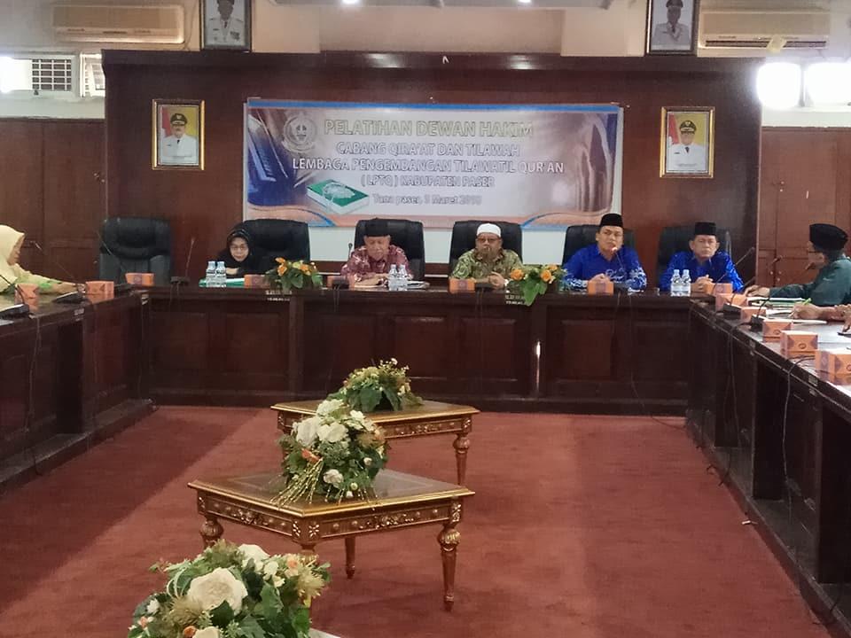Asmuni Samad Buka Pelatihan Dewan Hakim MTQ