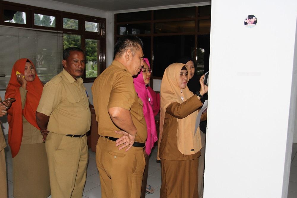 Tak Sidik Jari, Siap-Siap Dipotong. Cara Pemkab Paser Antisipasi PNS & PTT Tidak Disiplin.