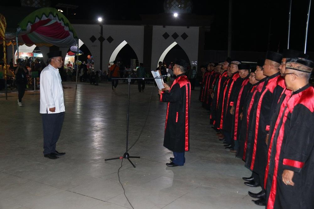 Sederhana & Hanya di Isi Pelantikan Dewan Hakim, Sekda Buka MTQ ke-45 Tingkat Kabupaten Paser