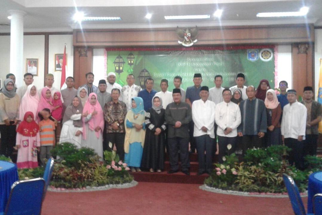 Halal Bihalal IKAPTK Pererat Persaudaraan.