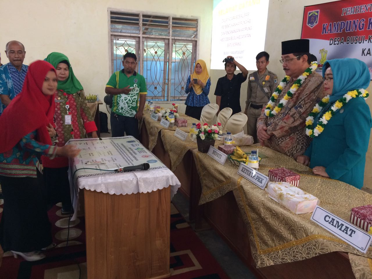Bungo Teratai Nama Kampung KB di Desa Busui