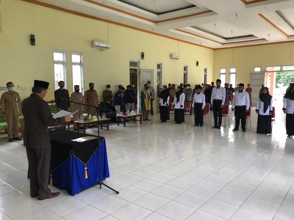 Lantik BPD, Wabup Masyarakat Desa Sudah Mewujudkan Proses Demokrasi
