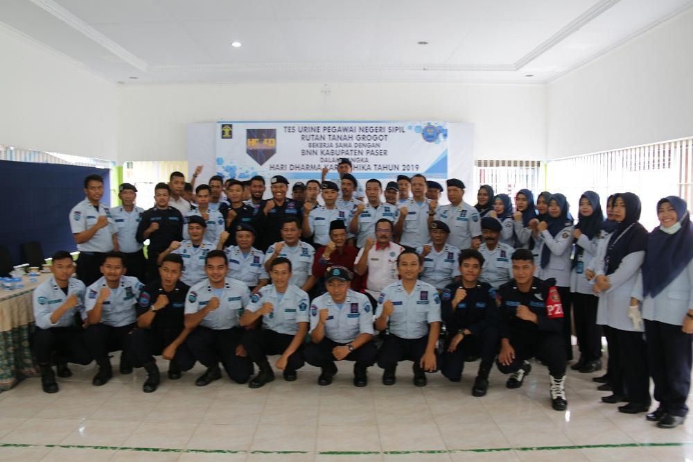 Kepala Rutan Dawa'i Komitmen  Bebas Narkoba, Pungli & Handphone