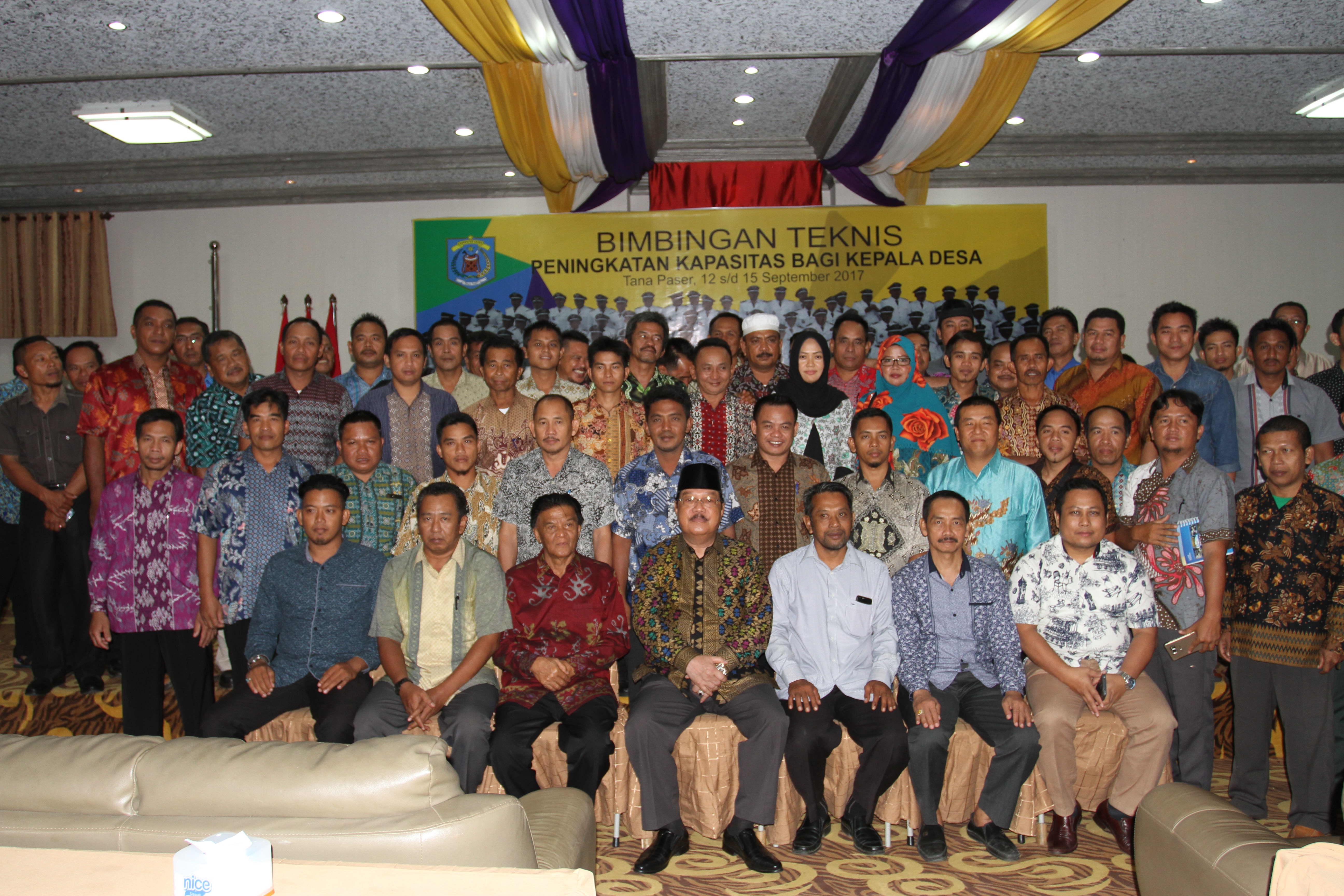 Bimtek Kades di Lanjutkan OL ke Kabupaten Banjar