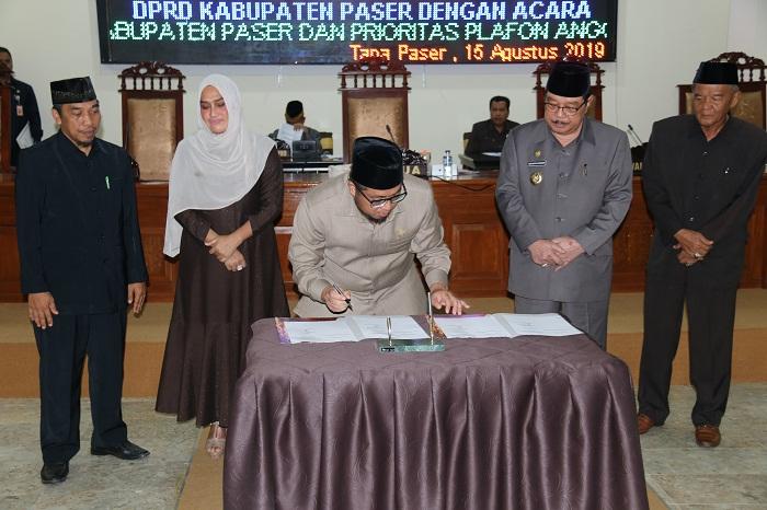 Akhiri Jabatan, DPRD Setujui KUA-PPAS TA 2020
