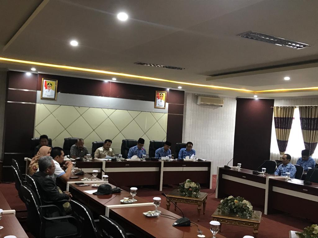 Komisi III DPRD Kaltim Evaluasi Penyerapan Bankeu   2019