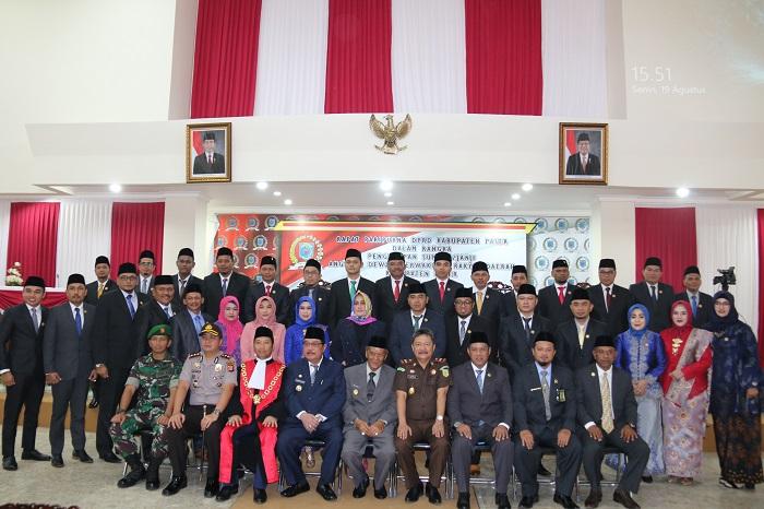 Bupati: Pemerintah & Lembaga Wakil Rakyat Dapat Terjalin Baik, Saling Sinergis & Saling Memahami