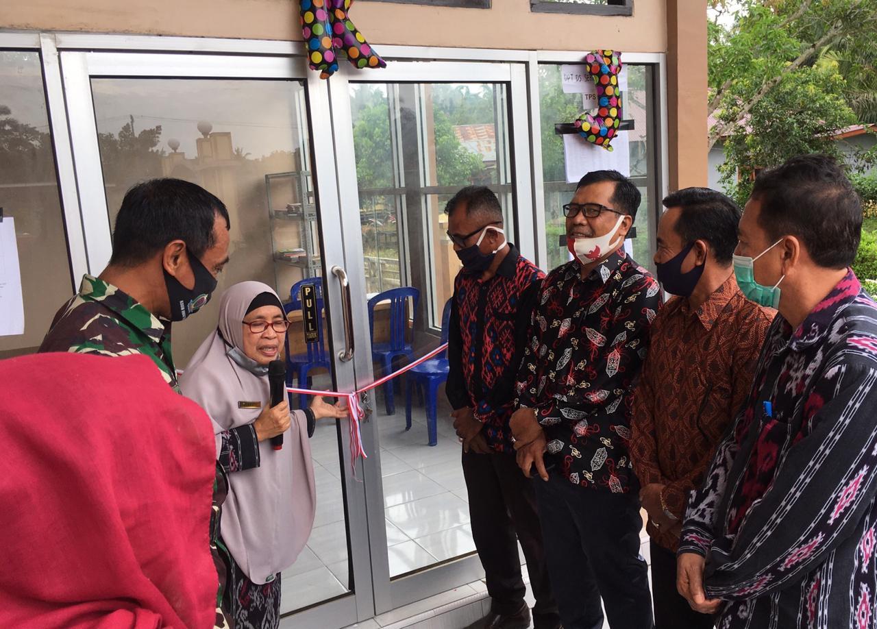 Enjele Nusantara Diresmikan, Herwati Harap Mampu Tingkatkan Budaya Membaca Masyarakat Desa