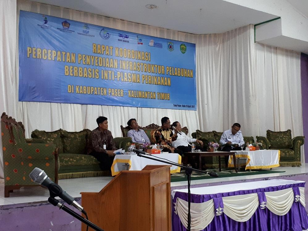 Tanjung Aru Jadi Pusat Industri Kelautan dan Perikanan Kalimantan Timur