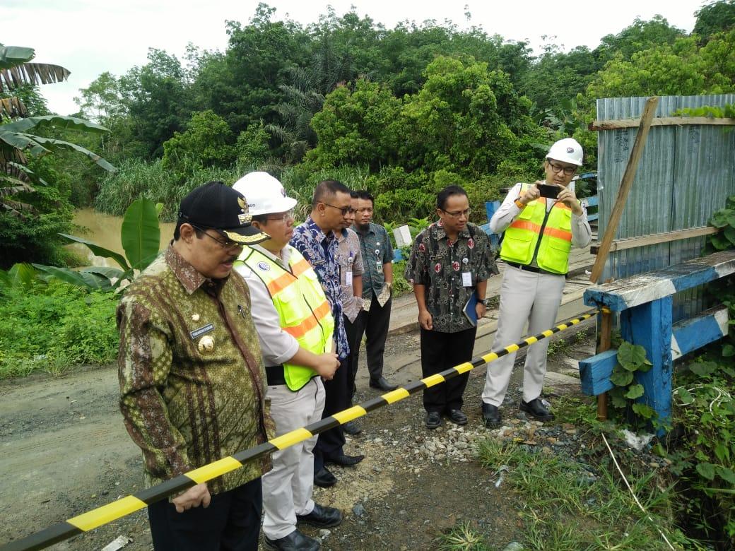 Bupati Sampaikan Terimakasih PT Kideco Bangun Jembatan Samurangau Rp5,7 Miliar