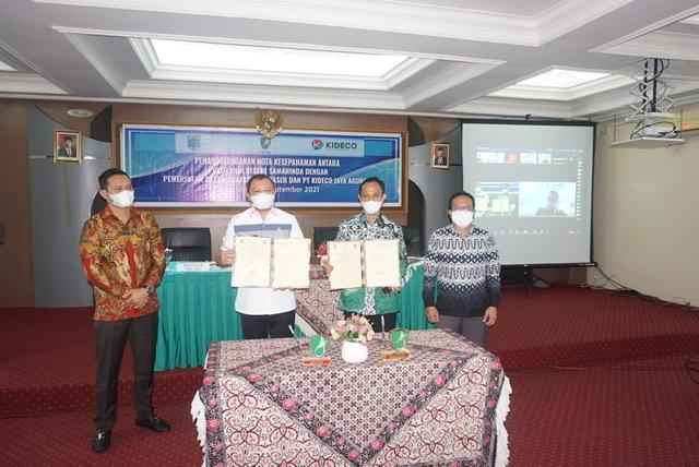 Lanjutkan Program PDD, Pemkab Paser, Polnes & PT Kideco Lakukan MoU