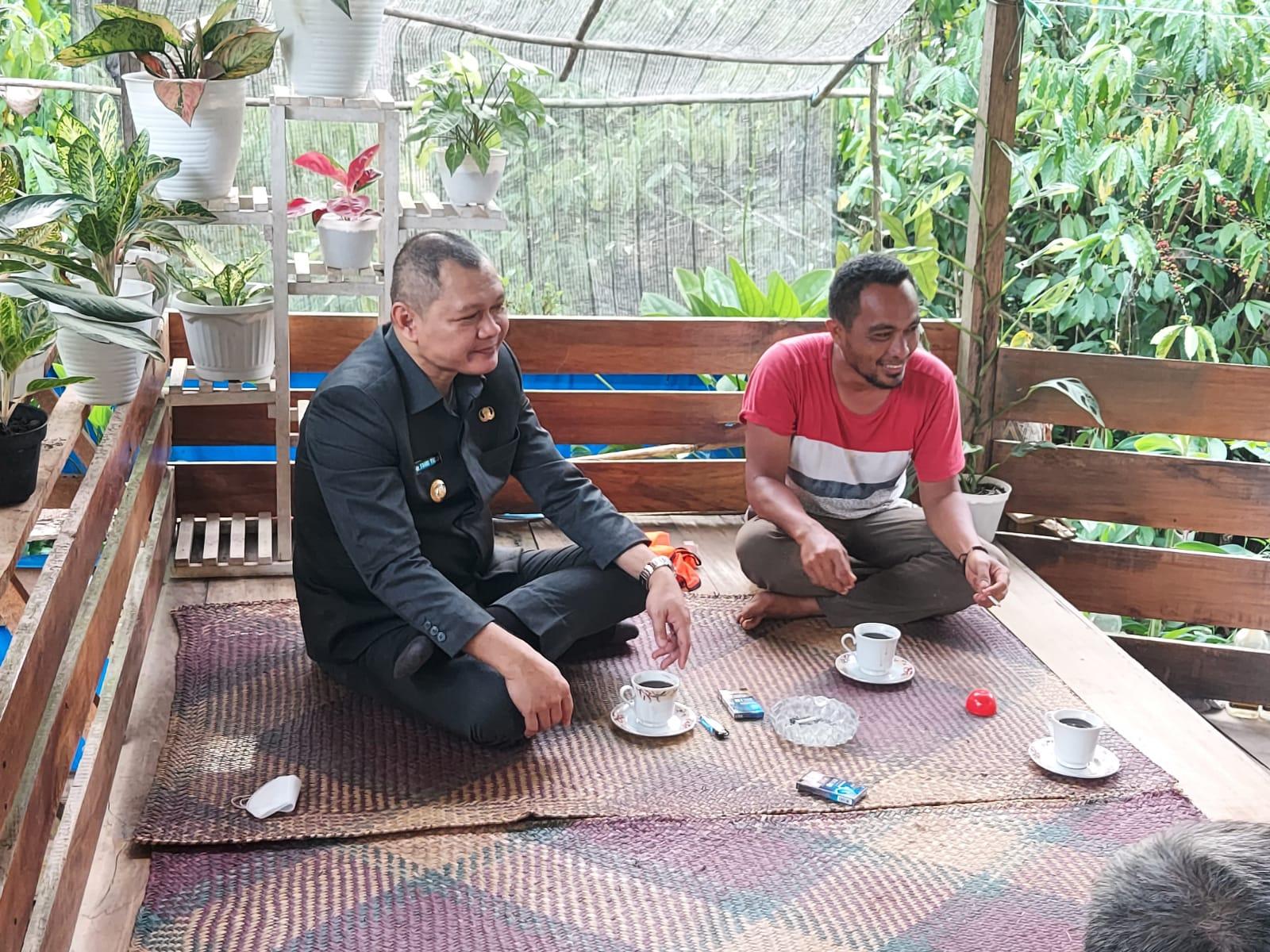 Fahmi Silaturahmi sambil Tinjau Infrastruktur