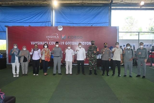 Gubernur Isran Buka Vaksinasi Gotong Royong PT Kideco