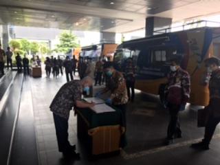Paser Terima Bus Layanan Keliling Administrasi Kependudukan