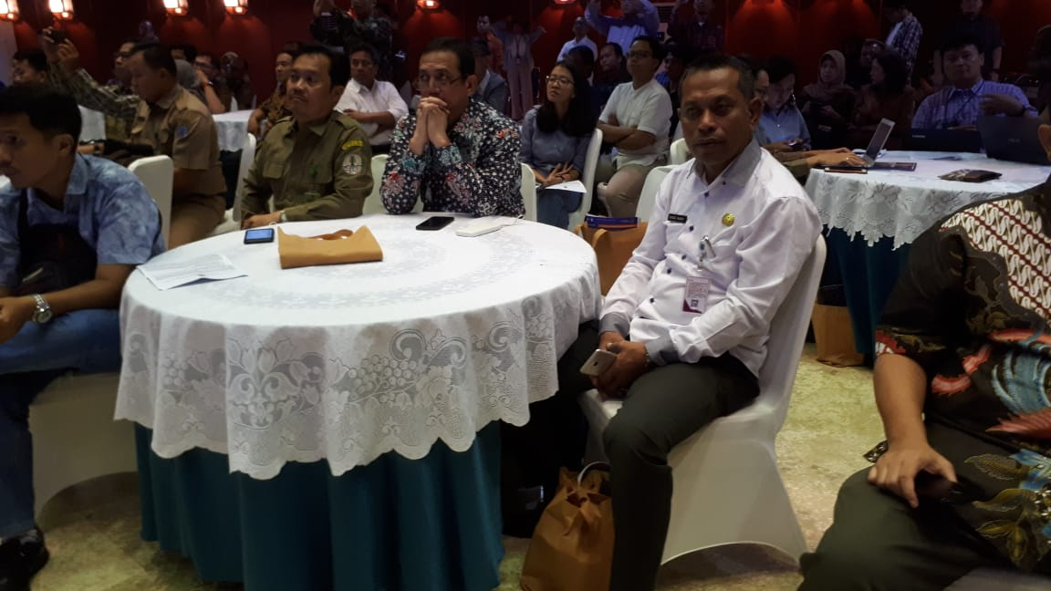 Sekda Hadiri Launching Peta Hutan Adat di Jakarta