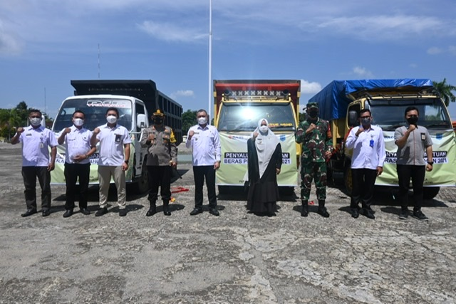 Bupati Fahmi  Launching Beras PPKM