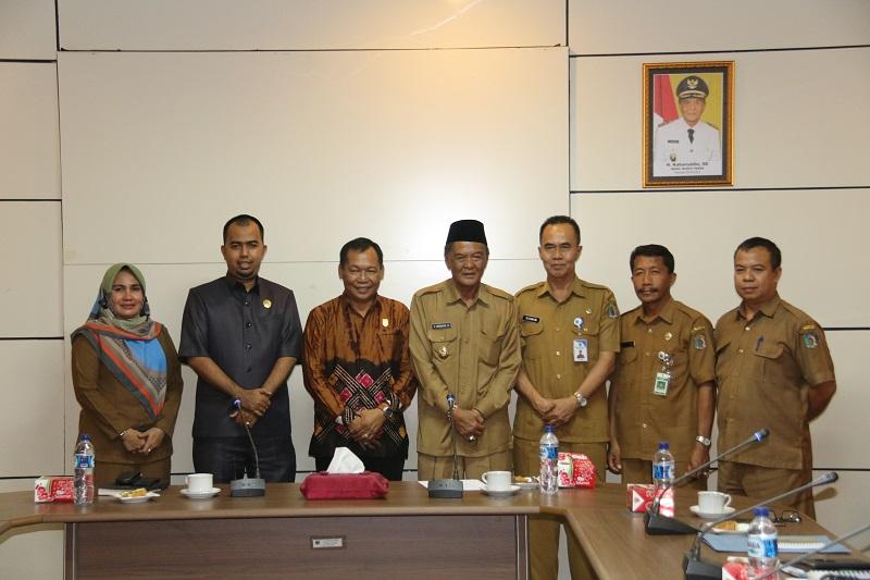Wabup Terima Studi Banding Ketua &Wakil DPRD Tabalong