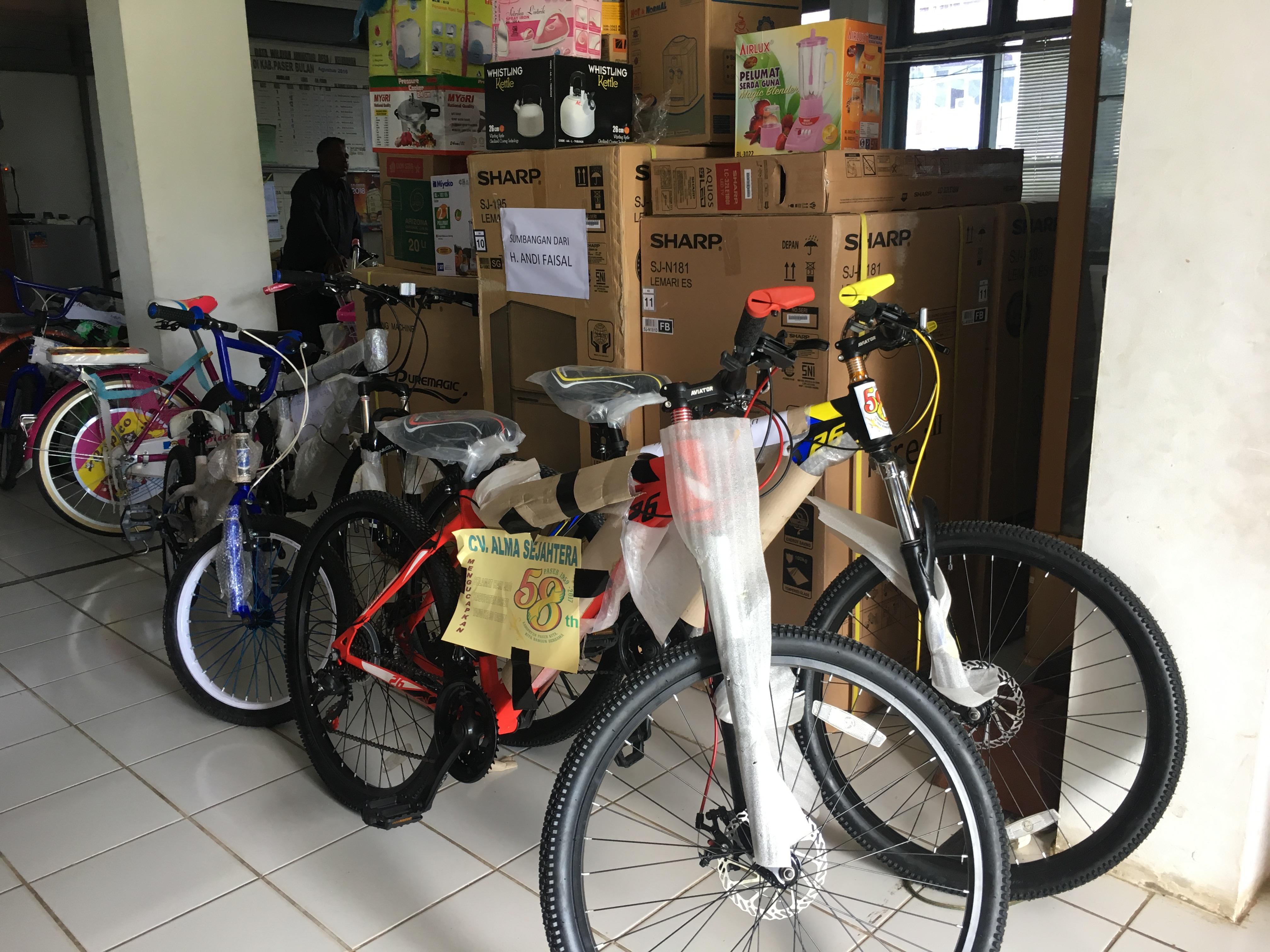 Fun Bike dan Jalan Sehat Berhadiah Utama Sepeda Motor