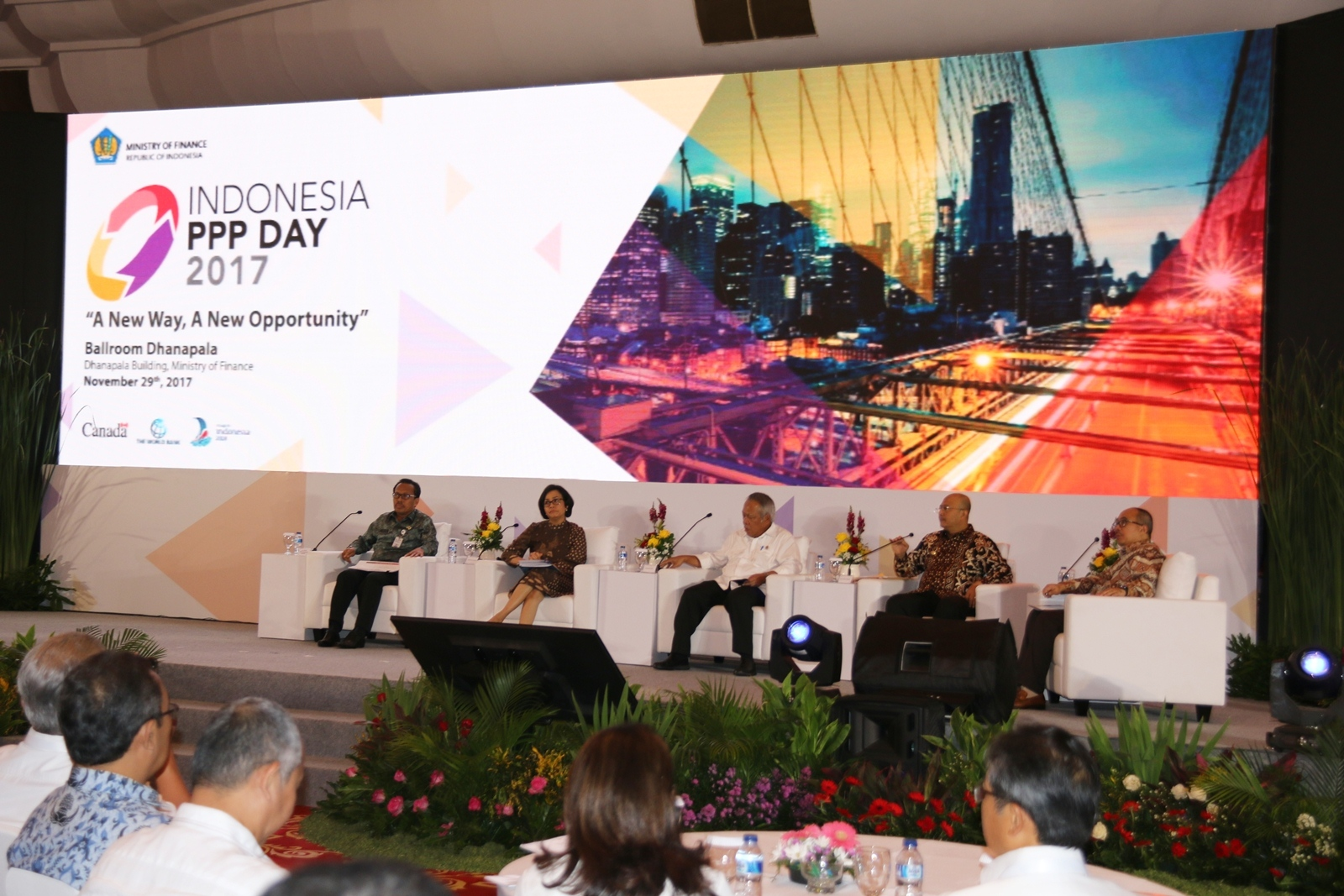 Bahas KPBU, Bupati Paser Hadiri Breakfast Meeting Indonesia PPP Day 2017