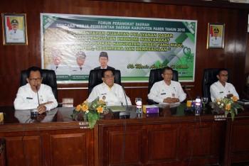 Wabup Buka Forum Gabungan SKPD