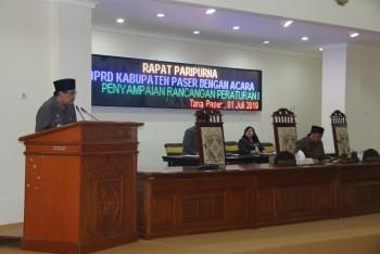 Bupati Sampaikan Raperda APBD 2018 yang Telah Diaudit BPK