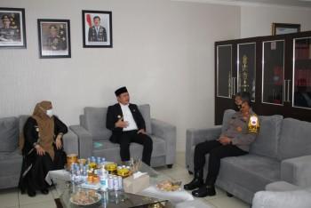 Dandim, Kapolres & Ketua PN  Apresiasi Kunjungan Bupati & Wabup