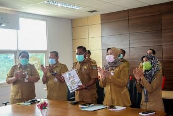 LKPD 2019 Pemkab Paser Diserahkan Melalui Video Conference