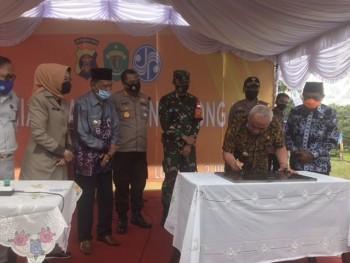 Gubernur Resmikan Samsat Penuh Long Ikis