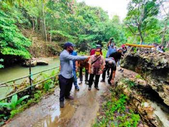 Tempat Wisata Baru. Pengunjung Nikmati Petualangan & Pemandangan Alam Sungai Loyu Bille