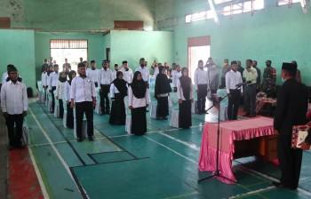 Lantik Anggota BPD Kecamatan Kuaro Sekda : Sinergi menjadi kunci berhasilnya pembangunan desa
