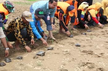 230 Tukik Biuku Desa Damit Dilepas