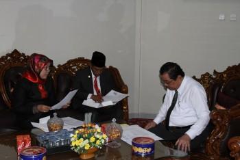 Program Utama TPID Paser Kemandirian Pangan & Program Kerjasama Antar Daerah.