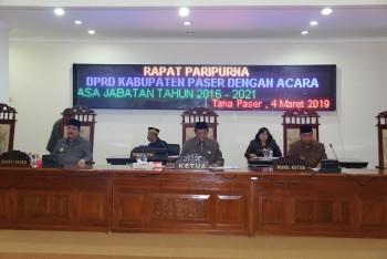 Ketua DPRD Umumkan Pemberhentian Wabup Paser