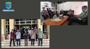 Protokol Provinsi Kaltim Kunjungi Protokol Paser