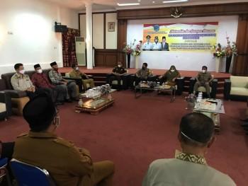 Wabup, Forkopimda,  FKUB, FKDM & FPK Silaturahmi Bahas Kelanjutan Pura