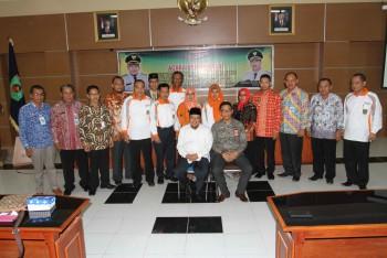 Studi Komperasi Camat di Terima Bupati Lombok Utara
