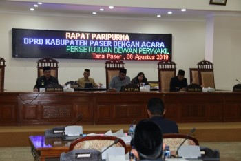 DPRD Setujui APBD Perubahan 2019