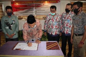 Kanwil Hukum & HAM  Gelar Promosi & Diseminasi Kekayaan Intelektual Komunal