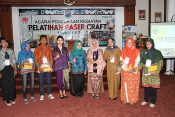 Dekranasda Gelar Pelatihan Paser Craft   Hadirkan Instruktur dari Dekrans Pusat