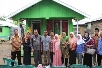 Bupati Tinjau Rehabilitasi Sosial RTLH di Long Kali