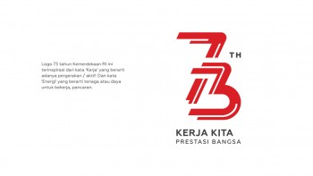 Download Logo dan Tema HUT ke-73 Kemerdekaan Republik Indonesia