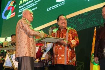 Selain Terima Panji & 9 Penghargaan, Paser Terima Anugra Adi Bahasa 2019