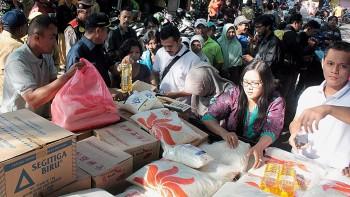 TPID dan Bulog Gelar Bazar Pasar Murah