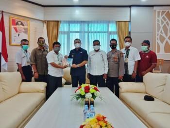 Bupati Fahmi Terima Kunjungan Pengurus Daerah Gerakan Pemasyarakatan Minat Baca (PD GPMB) Kabupaten Paser
