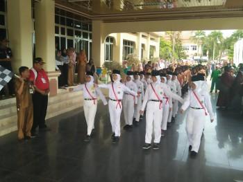 Meriahkan Hari Jadi Kabupaten Paser ke-59, PPI Paser Gelar Lomba Gerak Jalan Gembira