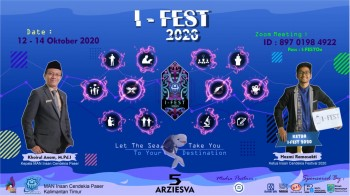 MAN IC Paser Gelar I-FEST 2020 secara Daring Berskala Nasional