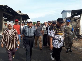 Wabup Mardikansyah Kunjungi Pedagang Pasar Senaken