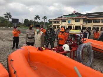 Siaga Bencana, Wabup Kaharuddin Pimpin Apel Konsolidasi